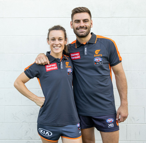 GIANTS 2020 AFLW Mens Media Polo