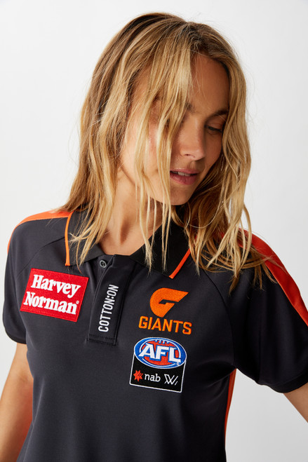 GIANTS 2020 AFLW Ladies Media Polo