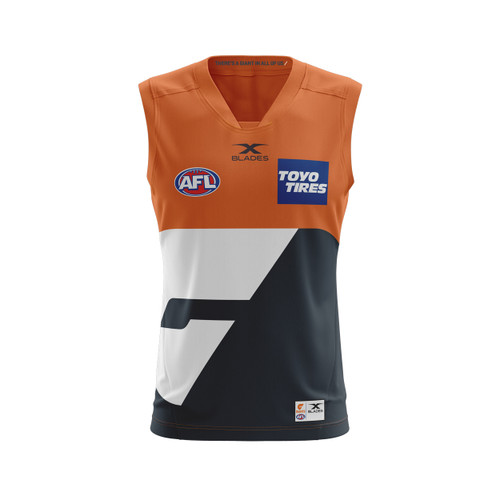 GIANTS 2017 Adult AFL Away Guernsey