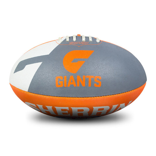 GIANTS Synthetic AFL Team Ball - Size 5