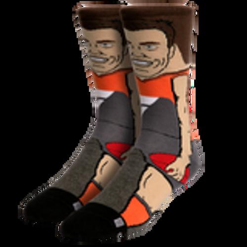 GIANTS Jeremy Cameron Adult Nerd Player Socks
