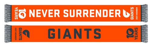 GIANTS 2021 Members Scarf