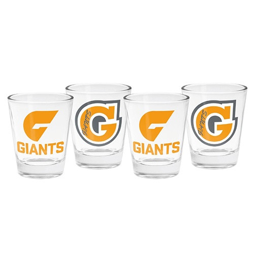 GIANTS 4 Pack Shot Glasses