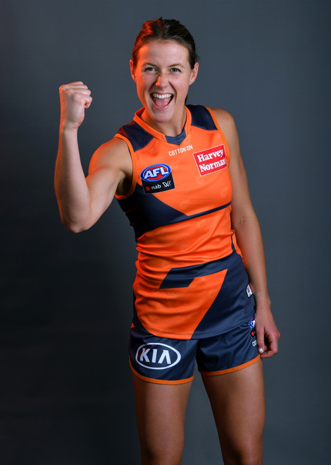 GIANTS - 2021  AFLW Home Guernsey
