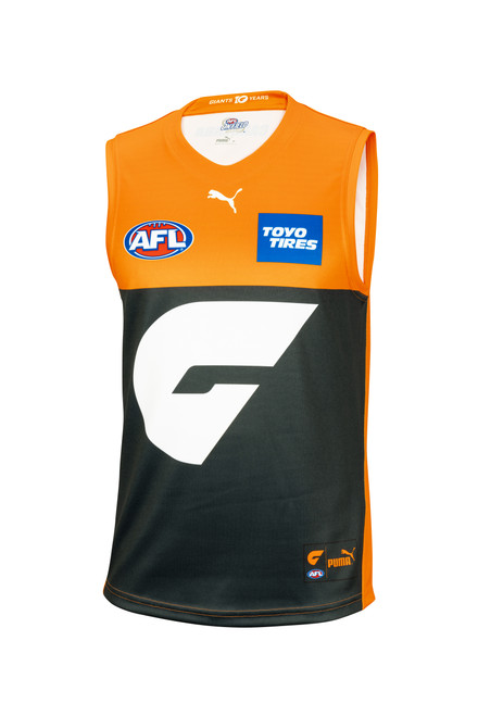 GIANTS 2021 PUMA Replica Home Guernsey - Mens