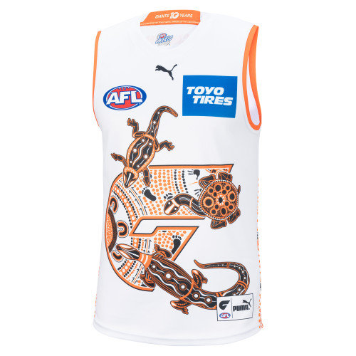 GIANTS 2021 PUMA Replica Indigenous Guernsey - Adult