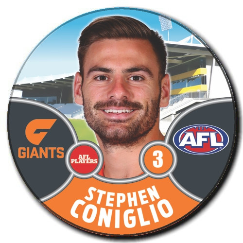 GIANTS 2021 AFL Badge