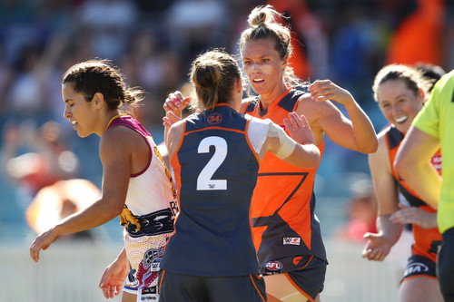 GIANTS AFLW Numbers White