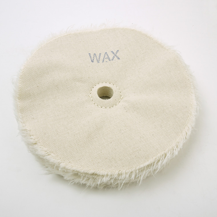 """Beall Wood Buff 8"""" Wax Wheel w/ 3/4"""" Hole"""