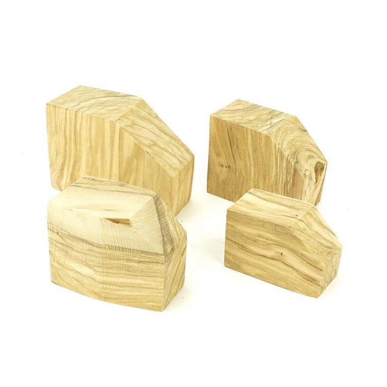 Manno Italian Olive Wood Block Ebauchon