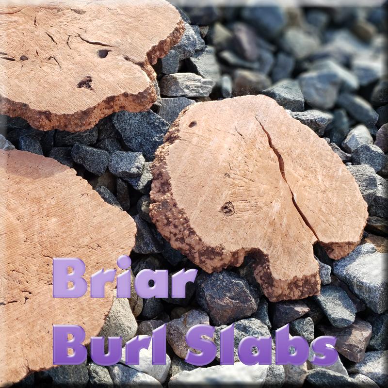 Italian Briar Root Burl Slab