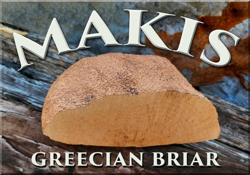 Makis Grecian Briar