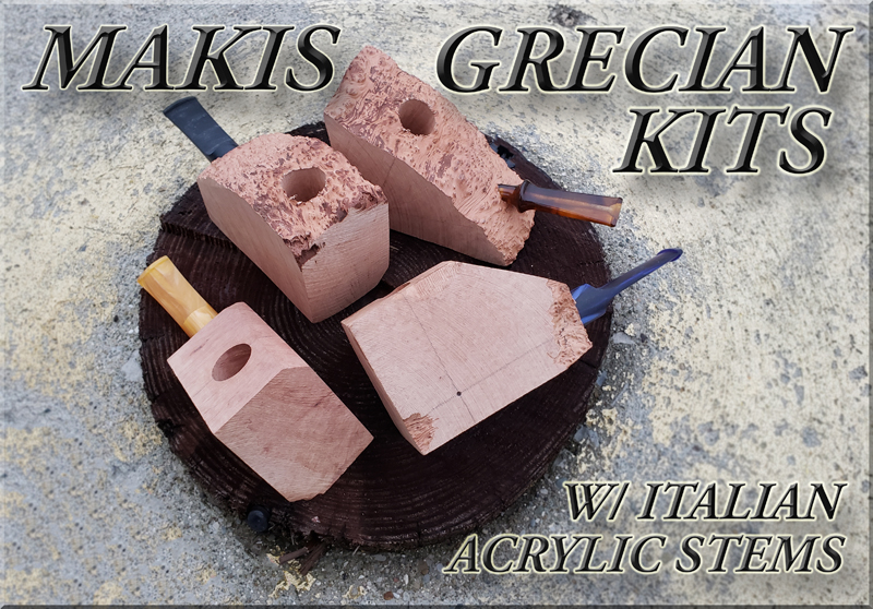 Pre-Drilled Makis Grecian Briar Kit