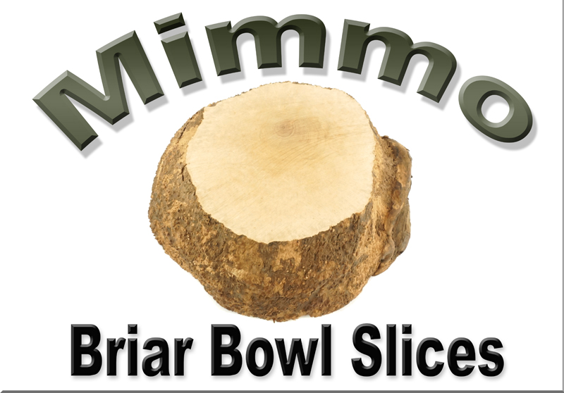 Mimmo Briar Burl Bowl Slices