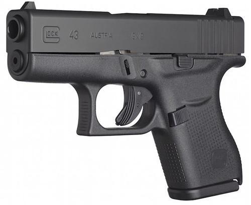 """Glock G43 GEN3 9MM 3.25"""" 6RD Black UI4350201"""