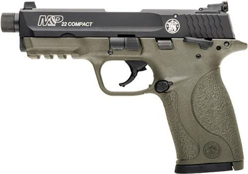 Smith&Wesson M&P22 Compact .22LR 10RD Flat Dark Earth Poly 10242