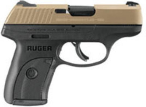 Ruger LC9S PRO 9MM 7RD Gold 3264