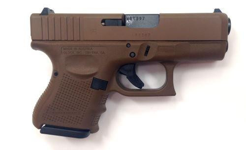 Glock G26 G4 Full FDE 9MM 10RD PG2650204D