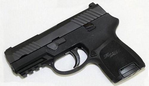 Sig Sauer 320SCR-9-BSS P320 9MM Sub-Compact Nitron® 12RD NS Rail