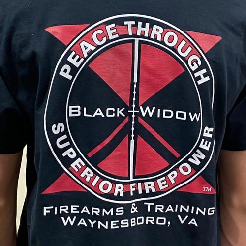 """Peace Through Superior Firepower"" T-Shirt"