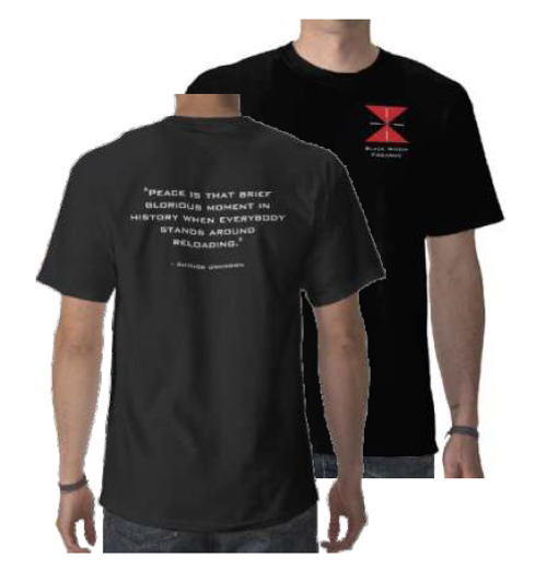 """""""Peace is that brief glorious moment..."""" T-Shirt"""