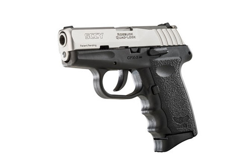 SCCY CPX-3TT .380ACP 10+1 No Safety, Polymer Frame CPX-2 SS/Black