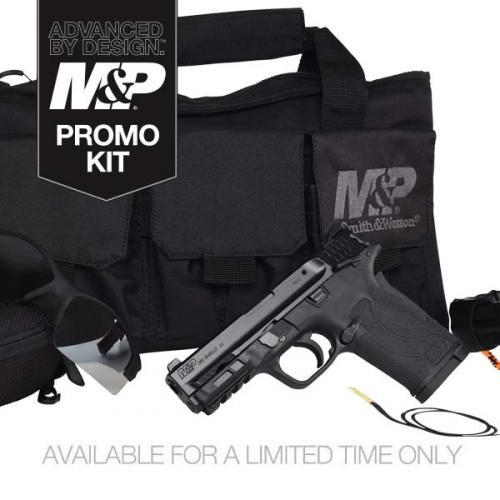 S&W 13114 M&P Shield EZ M2.0 380ACP Range Kit 8RD Black