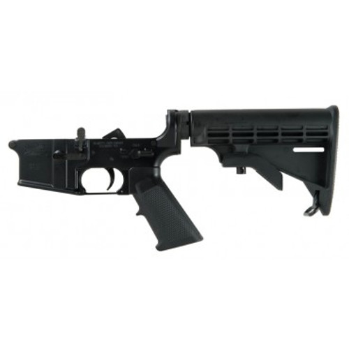 PSA 7244 AR-15 Complete Classic Lower Multi-Cal, M4 stock