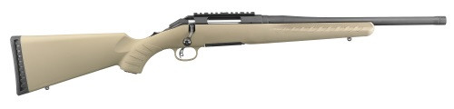 """Ruger American Ranch 300 AAC Blackout 10RD FDE 16"""" Barrel 26968"""