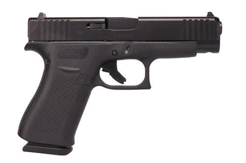 "Glock G48 Compact 9MM PA4850201 10+1, 4.17"" Barrel, Black, Fixed Sights"