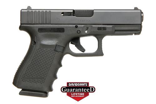 "Glock G23 G4 USA UG2350203 40SW 13+1, 4.02"" Barrel, Fixed Sights, Black"