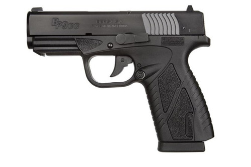 Bersa BP380 Conceal Carry 380ACP Matte Black, 8+1, 2 Mags, Picatinny Rail BP380MCC