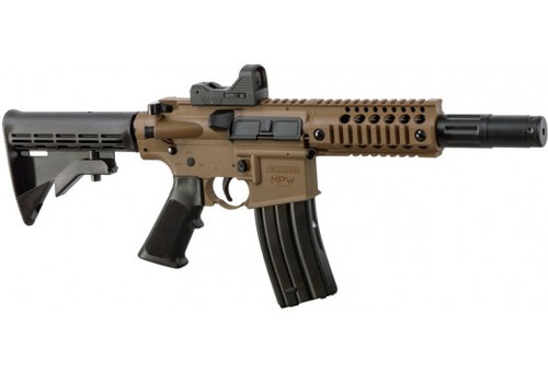 Bushmaster MPW CO₂ Powered, Full-Auto BB Air Rifle w/ Red Dot BMPWX