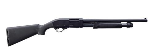 "European American Armory Churchill 612 Shotgun 12GA. 3"", 6-Shot, 18.5"" Barrel, Matte Black 111370"