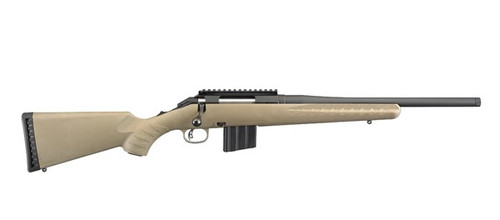 "Ruger American Ranch Compact Rifle 26985 350LGND 5RD FDE 16"" Barrel, Flat Dark Earth Finish"