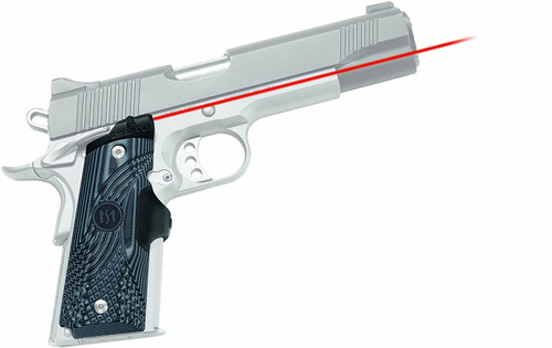 Crimson Trace LG-904 Master Series Lasergrips G10 Black/Gray for 1911 Full-Size