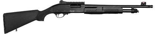 "European American Armory Churchill 620 Tactical Pump Shotgun 20GA. 3"", 6-Shot, 18.5"" Barrel, Matte Black 111210"