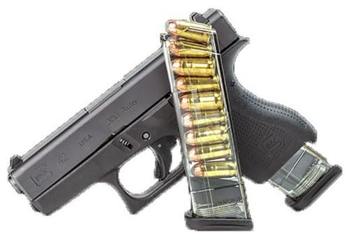 ETS Mag Glock 42 380ACP 9RD Translucent GLK429