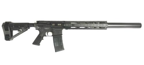 Black Widow Venom 10.5 Pistol .458 SOCOM shown with Bowers Vers Suppressor, SB Tactical SBA4 Brace and 30RD mag