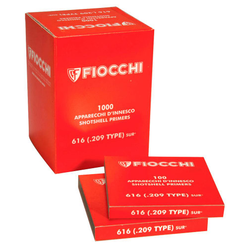 Fiocchi 616 Shotshell Primers #209 Box of 1000