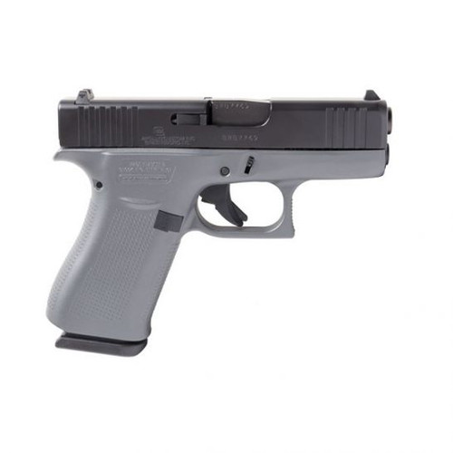 "Glock 43X Concrete Gray 9MM ACG-00871 3.41"" barrel,  10RD, 2 Mags"