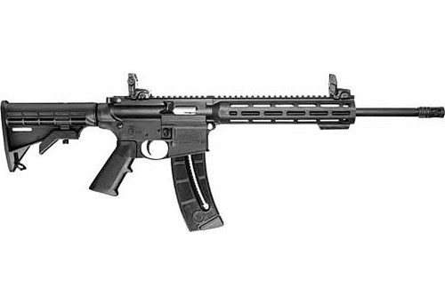 """Smith&WessonM&P®15-22 SPORT™ .22LR 16.5"""" Barrel, 25rd, 6-POS Stock with Sights, Black 10208"""