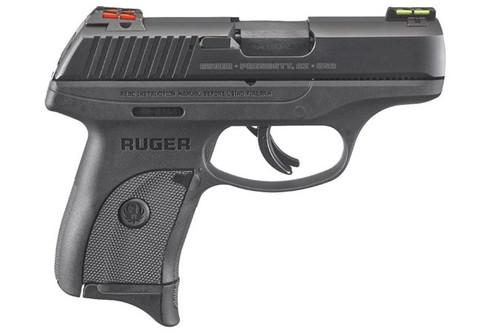 Ruger LC9S 9MM BL/POLY H-VIZ Sights 3270