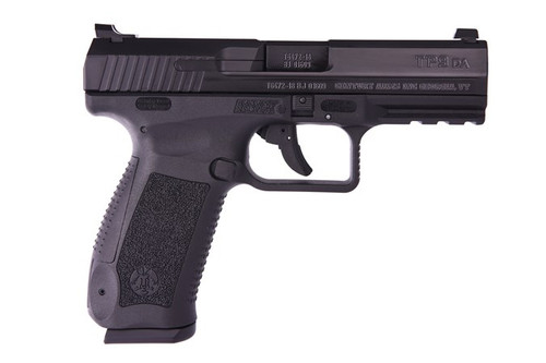 CANiK TP9DA 9MM 18RD Black HG4873-N