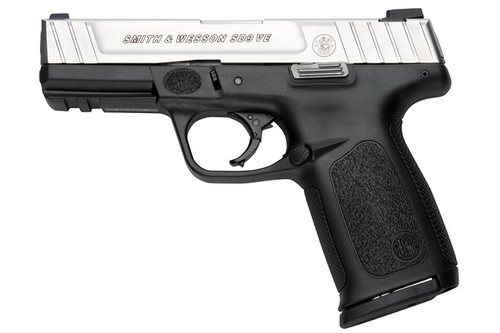 Smith & Wesson SD9VE 9MM 16RD SS/Black 223900
