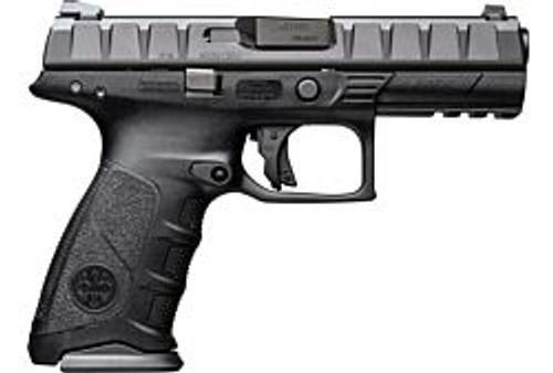 """Beretta APX 9MM Luger 17+1, Full Size, 4.25"""" Barrel, Fixed Sights, Black Polymer JAXF921 -right"""