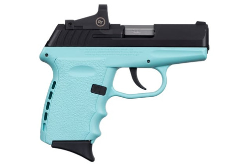 SCCY CPX-2CBSBRD 9MM 10+1 No Safety, Polymer Frame CPX-2RD Black/Blue