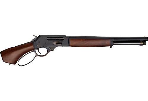 "Henry Axe .410 Bore 2.5"" Shotgun, 5-Shot, 15.14"" Barrel, Blued/Walnut Finish, Pistol Grip, Invector Choke H018AH410"
