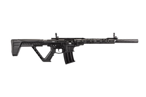 "Rock Island Armory VR80 AR-15 Style Semi-Auto Shotgun 12GA, 20"" Contoured Barrel, Black Anodized Finish, Tactical Stock"
