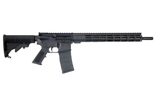 "Great Lakes Firearms AR15 Rifle .223 WYLDE 16"" Nitride Barrel Black Finish"